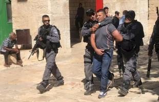 قوات الاحتلال تعتقل شقيقين عقب خروجهما من المسجد الأقصى