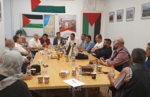 هيئة الجمعيات الفلسطينية والعربية في برلين تدين إعلان الإحتلال تطبيق سياسات الضم
