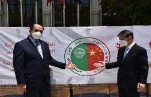 الجامعة العربية تتسلم شحنة مستلزمات طبية من الصين