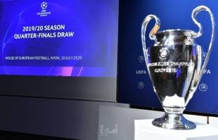 قرعة الربع النهائي لدوري أبطال أوروبا