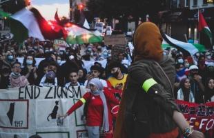 """المؤسسات الفلسطينية في أمريكا تنظم """"مظاهرة مليونية"""" تدعو لــ""""معاقبة إسرائيل"""" وردعها"""