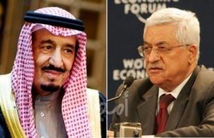 عباس يهنئ خادم الحرمين الشريفين بنجاح العملية الجراحية