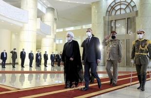 رئيس الوزراء العراقي يلتقي الرئيس الإيراني في أول زيارة رسمية للخارج