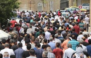 """تشييع جثمان أمين سر فتح """"عماد دويكات"""" وسط غضب شعبي في نابلس- فيديو وصور"""