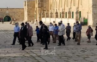 القدس: 117 مستوطن يقتحمون باحات المسجد الأقصى