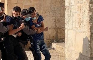 مركز فلسطين: 410 حالة اعتقال خلال مارس بينهم 41 طفلاً و10 نساء