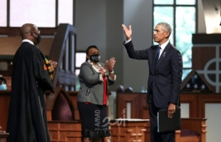 """أوباما يهاجم ترامب لإرساله عناصر من الشرطة الفدرالية لمواجهة """"متظاهرين سلميين"""""""