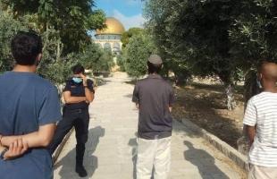 """مستوطنون يقتحمون """"الأقصى"""" ويؤدون طقوساً تلمودية في القدس"""