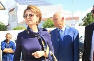 أول ظهور رسمي لزوجة الرئيس التونسي منذ توليه منصبه.. صور