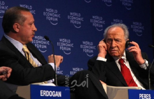داوود أوغلو يفضح أردوغان.. قدم الاعتذار لبيريز بعد انسحابه