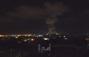 غزة: طائرات ودبابات إسرائيلية تقصف عدة مواقع وأرض زراعية