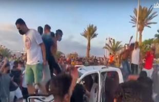 """فيديو.. """"حراك طرابلس"""" يُمهل حكومة السراج 24 ساعة للاستقالة"""