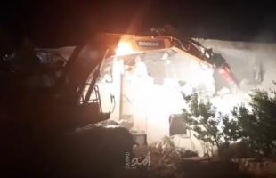 سلطات الاحتلال تجبر عائلة مقدسية على هدم منزليها في صور باهر