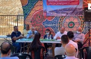 مركز القدس يناقش مخاطر الشارع الأمريكي وتسارع عمليات الهدم في المكبر والقدس