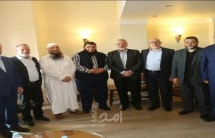 هنية يستقبل عصبة الأنصار الإسلامية: التأكيد على أهمية استقرار المخيمات ومقاومة الاحتلال