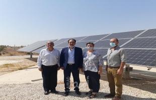 كهرباء القدس تستقبل ممثلة برنامج الأمم المتحدة الإنمائي وتطلعها على مشاريع الطاقة أريحا
