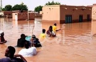 السودان .. مقتل 121 شخصا جراء الفيضانات والسيول