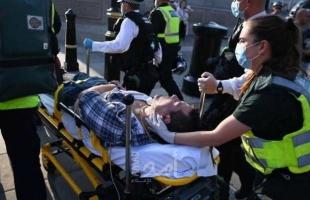 """اشتباكات في لندن جراء """"كورونا"""".. وحالات الإصابة في ارتفاع"""
