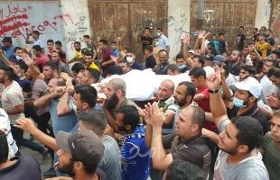 رغم كورونا..خانيونس تشيع المغدور البشيتي في جنازة مهيبة - صور وفيديو