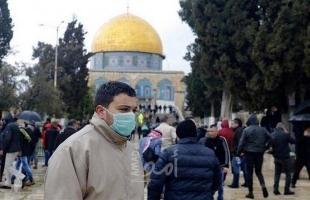"""القدس: وفاتان و54 إصابة بـ""""كورونا"""" خلال ثلاثة أيام"""