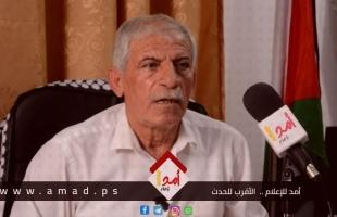 """في حوار مع """"أمد"""" ..الزق: التقاعد المالي إجراء غير قانوني وأطالب بإلغاء الإجراءات الظالمة ضد موظفي غزة"""
