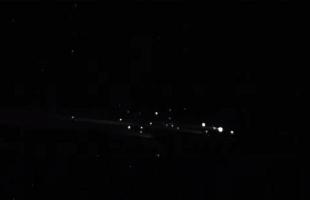بالفيديو ..  أضواء غريبة تظهر في سماء هاواي