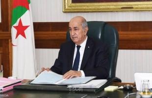 الرئيس الجزائري يعود إلى بلاده بعد رحلة علاج إلى ألمانيا لنحو شهرين