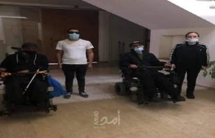 رام الله: اعتصام مجموعة من ذوي الإعاقة أمام تشريعي مطالبين بقوانين تعزز حقوقهم