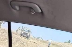 محدث.. إصابة شاب برصاص جيش الاحتلال جنوب الخليل- فيديو