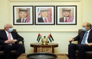 الصفدي والمالكي يبحثان تطورات القضية الفلسطينية