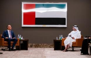 وزير الخارجية الإماراتي يبحث مع مسؤول أممي إحياء المفاوضات الفلسطينية الإسرائيلية