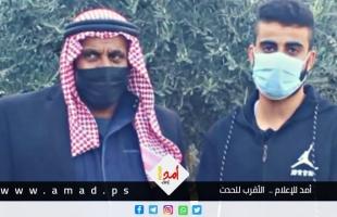 """كاميرا """"أمد"""" ترافق موكب احتفال بحرية الأسير """"محمد النباهين"""" من سجون الاحتلال"""