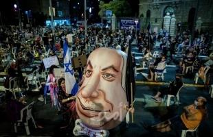 """تجدد التظاهرات الاحتجاجية ضد نتنياهو في """"إسرائيل"""""""