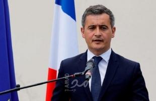 وزير الداخلية الفرنسي: هناك محتجون يخربون الجمهورية