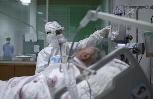 """الصحة الفلسطينية: 11 وفاة و1555 إصابة بـ""""كورونا"""" خلال الـ 24 ساعة الأخيرة"""