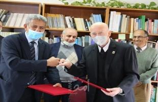 توقيع مذكرة تفاهم بين سلطة جودة البيئة وجامعة بيت لحم لتعزيز التعاون البيئي