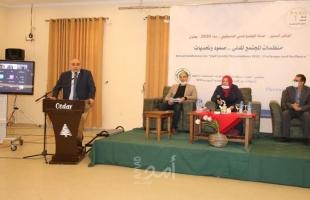 غزة: مسؤولون وخبراء يؤكدون ضرورة إنهاء الانقسام وتعزيز المجتمع المدني