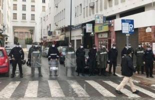 في ذكرى يوم الأرض..السلطات المغربية تفرق بالقوة وقفة تضامنية مع الشعب الفلسطيني