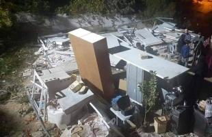 """سلطات الاحتلال تجبر المقدسية """"شهيرة غيث"""" على هدم منزلها بنفسها"""