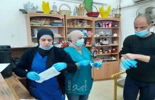 بيت الأجداد وبالتعاون مع صحة أريحا يعمل الفحص الطبي للنزلاء