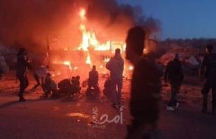 """تنظيم """"داعش"""" يعلن مسؤوليته عن الهجوم على حافلة في سوريا"""