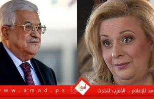 """في تصريحات لوكالة عبرية.. سهى الطويل: على """"أبو مازن"""" أن يغادر  الحكم كما رحل ترامب!"""