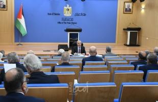 رام الله: أهم قرارات مجلس الوزراء الفلسطيني
