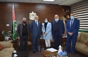 رام الله: وزير العمل والسفير التركي يبحثان سبل التعاون المشترك