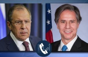 لافروف وبلينكن يبحثان استعداد روسيا لتطبيع العلاقات مع الولايات المتحدة