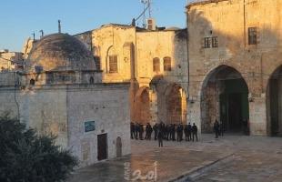القدس: قوات الاحتلال تمنع المصلين ولجان الإعمار من دخول المسجد الأقصى