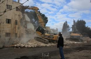 جيش الاحتلال يخطر بهدم (8) مساكن ومنشآت شرق نابلس