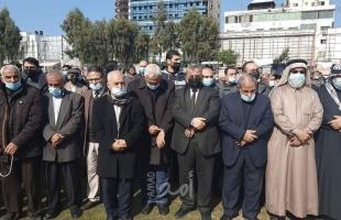 """تشييع جثمان القيادي بحم!س """"إبراهيم اليازوري"""" في غزة"""