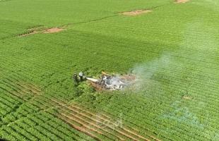 مصرع اثنين في حادث تحطم طائرة شمال إسرائيل