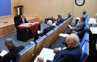 رام الله: قرارات جلسة مجلس الوزراء الأسبوعية..وتمديد الاجراءات الوقائية لمدة أسبوعين